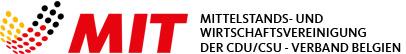 Logo der Mittelstands- und Wirtschaftsvereinigung der CDU Belgien